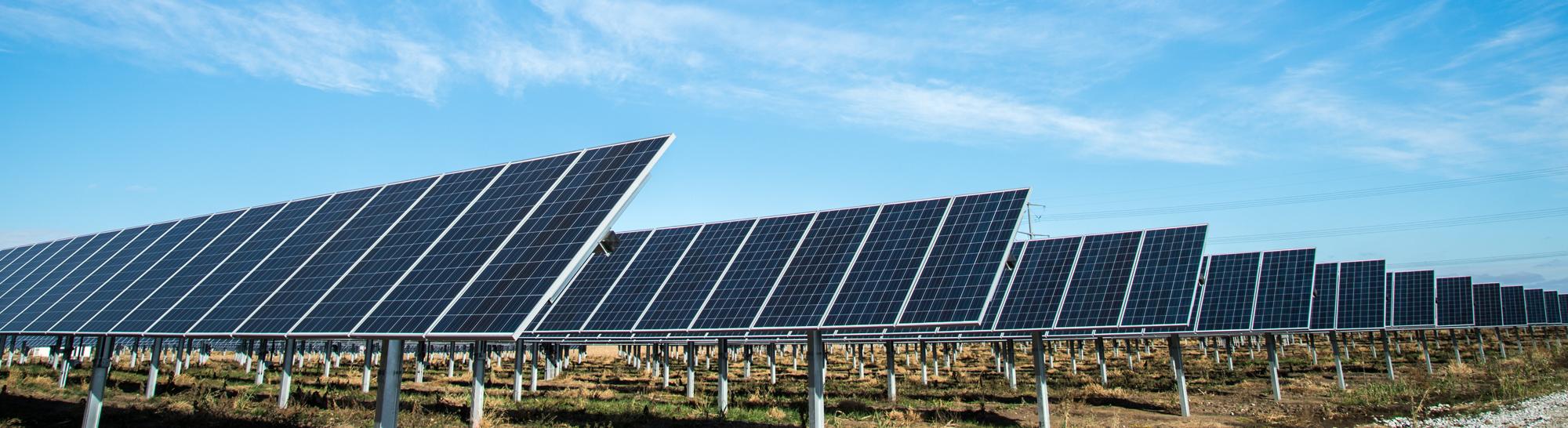 Zonnepanelen voor groene energie